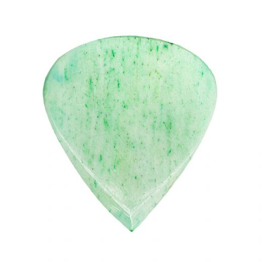 Jazzy Tones Green Bone 1 Guitar Pick